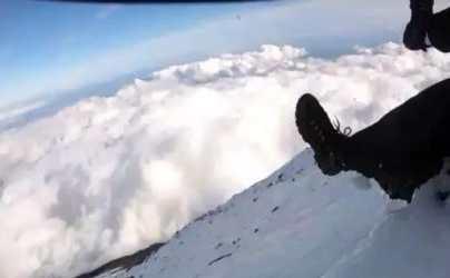 Hombre transmitió en vivo su caída mientras escalaba el Monte Fuji en Japón