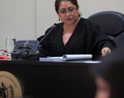 La jueza Claudette Domínguez. (Foto Prensa Libre: Edwin Pitán).