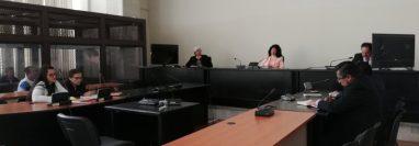 Tribunal donde se dictó condena por la muerte del alcalde de Rabinal, Ángel Amado Pérez Xitumul. (Foto Prensa Libre: Edwin Pitán).