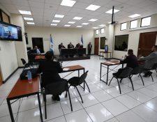 El juicio inició en mayo de este año y concluyó este jueves 23 de octubre. (Foto Prensa Libre: María Longo)