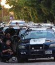 El caos se formó en Culiacán por la supuesta captura del hijo del Chapo. (Foto Prensa Libre: EFE)