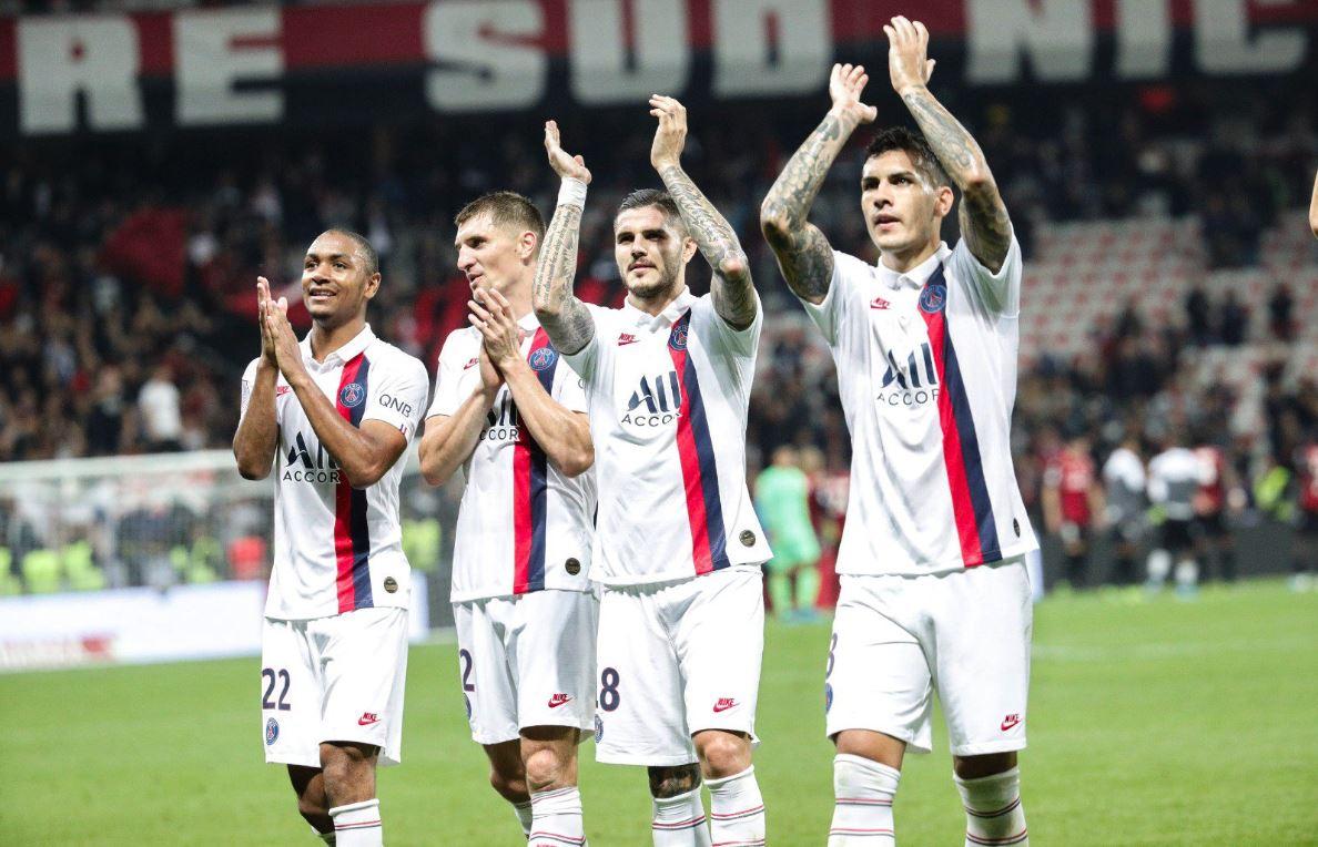 Di María, Mbappé e Icardi le dan la victoria al PSG ante el Niza