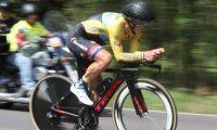 Manuel Rodas, durante la competencia de este domingo. (Foto Prensa Libre: CDAG)