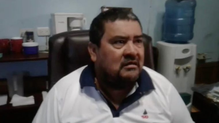 Marvin Esmeling Carlos González, alcalde de La Democracia, Escuintla. (Foto: redes sociales)