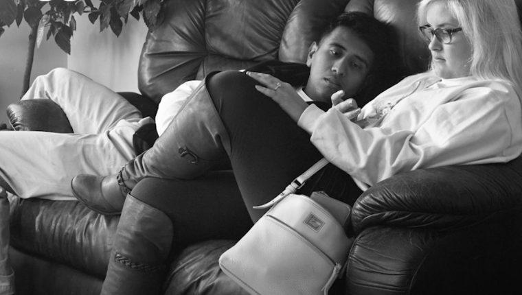 Una pareja posa para el fotógrafo Eric Pickersgill. Deutsche Welle