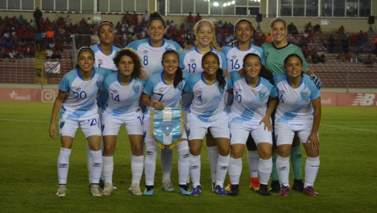 La Selección Nacional de Guatemala cayó frente a Panamá. (Foto Prensa Libre: cortesía CDG)
