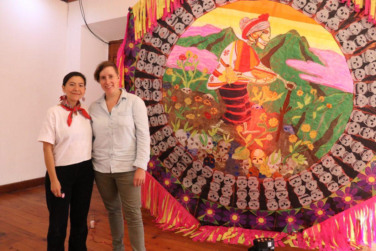 """Inauguran exposición """"Ofrendas en el Cielo"""" que mezcla la cultura guatemalteca y mexicana"""