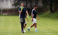Ricardo Jerez, guardameta de la Selección Nacional. (Foto Prensa Libre: Jeniffer Gómez)
