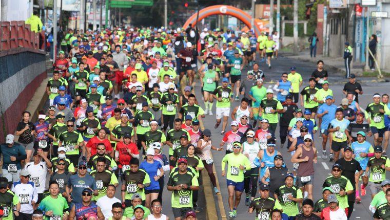 La competencia celebró su 12 edición. (Foto Prensa Libre: Raúl Juárez)