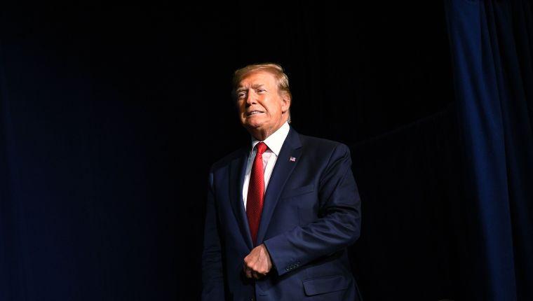 Donald Trump, presidente de Estados Unidos. (Foto Prensa Libre AFP)
