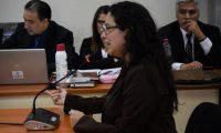 Diana Benavides, exjefa del Departamento Jurídico del Ministerio Público. (Foto Prensa Libre: Édwin Pitán)