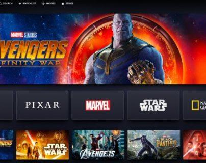 Disney da a conocer el contenido que estará en su plataforma. (Foto Prensa Libre: Forbes).