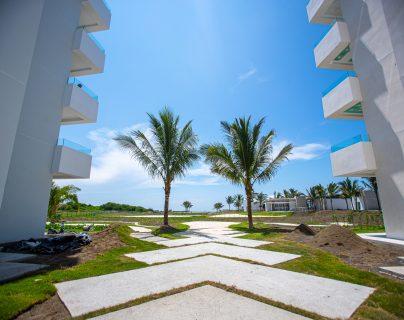 Oceana Resort + Conventions, una inversión 100% guatemalteca, se encontrará en el kilómetro 6 camino a Monterrico y, abrirá sus puertas a finales de año. Fotografía Prensa Libre: Juan Diego González