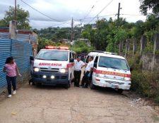 Bomberos Voluntarios cubrieron el hecho, pero pobladores no les permitieron acercarse a la víctima. (Foto: Bomberos Voluntarios)