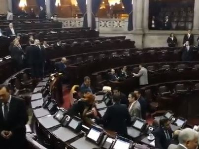 UNE no consigue apoyo en el Congreso para reformar ley del MP y remover al fiscal general