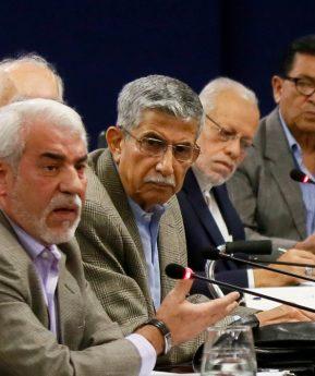 Presentan Gabinete de Seguridad de Giammattei en El Salvador sin oficializarlo en Guatemala