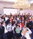 Centrarse reconoció a las empresas que promueven la inclusión. Foto Prensa Libre: Norvin Mendoza