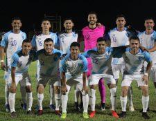 La Selección Nacional jugó contra Anguila y Bermuda en la fecha Fifa de octubre, en la que sumó seis puntos. (Foto Prensa Libre: Hemeroteca PL)