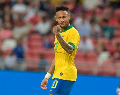 Neymar será la principal arma para Brasil camino a Qatar 2020. (Foto Prensa Libre: AFP)