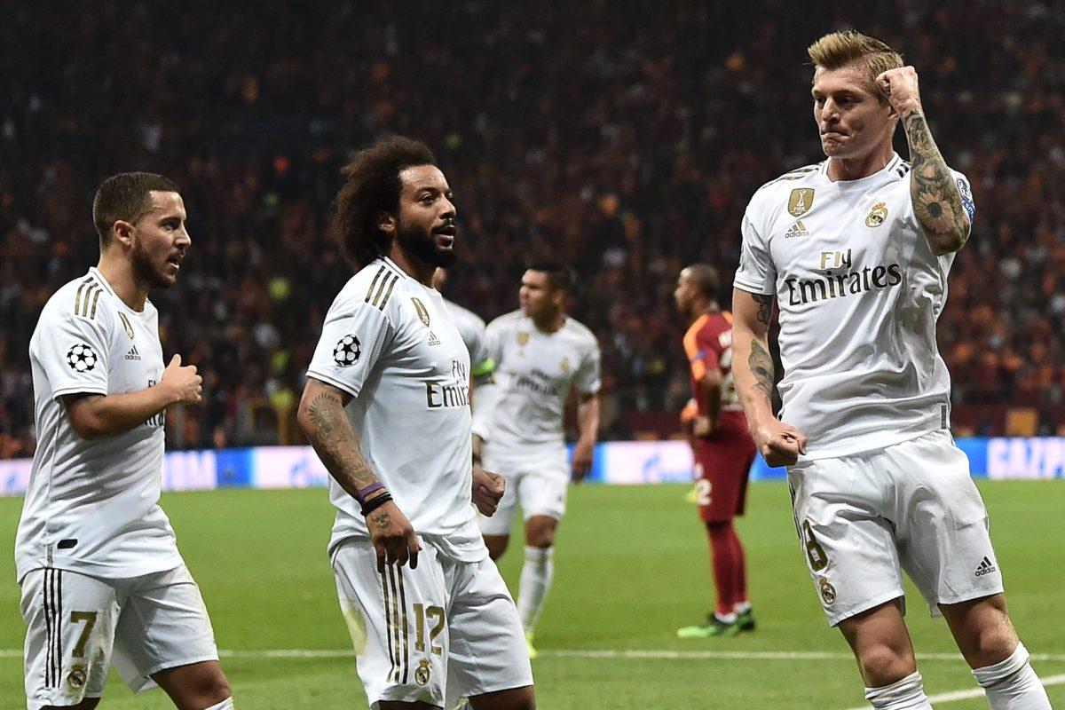 El Real Madrid calma su crisis tras ganar 1-0 al Galatasaray