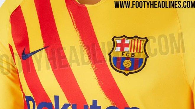 Así será el cuarto uniforme del FC Barcelona para la temporada 2019-2020. (Foto Prensa Libre: Tomada de Footyh Hadlines)