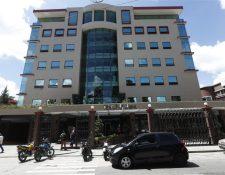 Sedes del Mides en la zona 9 capitalina. (Foto Prensa Libre: Esbin García)