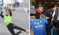 Matías Draghi y Jesús Moreno no serán más jugadores de Deportivo Mixco. (Foto Prensa Libre: Deportivo Mixco)