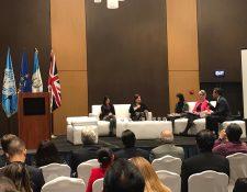 Foro Empresas y Derechos Humanos se realizó pro primera vez en el Guatemala (Foto, Prensa Libre: Embajada Británica).