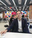 Gabriel Calzada, Rector de la Universidad Francisco Marroquín, explicó acerca del MIT y de las áreas de emprendimiento e innovación  multidisciplinaria. (Foto, Prensa Libre: Rosa María Bolaños).