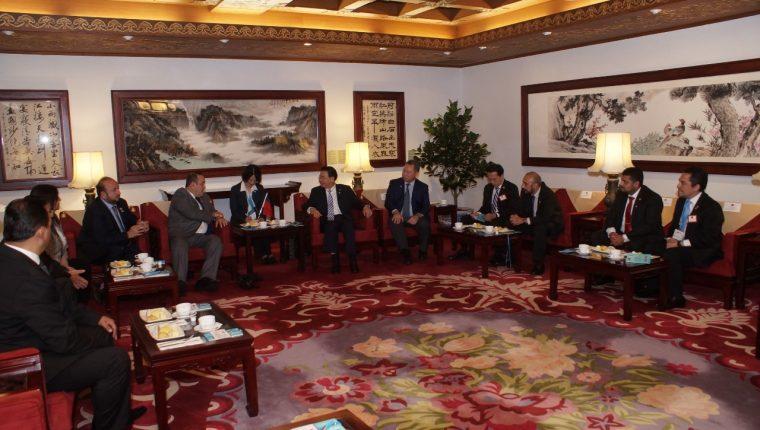 El presidente electo Alejandro Giammattei, se encuentra de visita en Taiwán. (Foto Prensa LIbre: Cortesía)