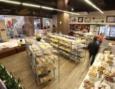 Panadería San Martín tiene 52 tiendas en tres países. (Foto Prensa Libre: Hemeroteca PL)