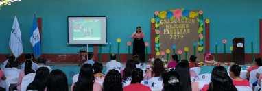 Las mujeres de esta comunidad están ahora capacitadas en diversos temas que ayudarán a su entorno. Foto cortesía.