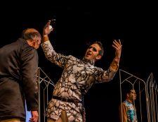 La obra Ricardo III se presentará los viernes y sábados de octubre en el Teatro Dick Smith. (Foto Prensa Libre: Cortesía Pako Pérez).
