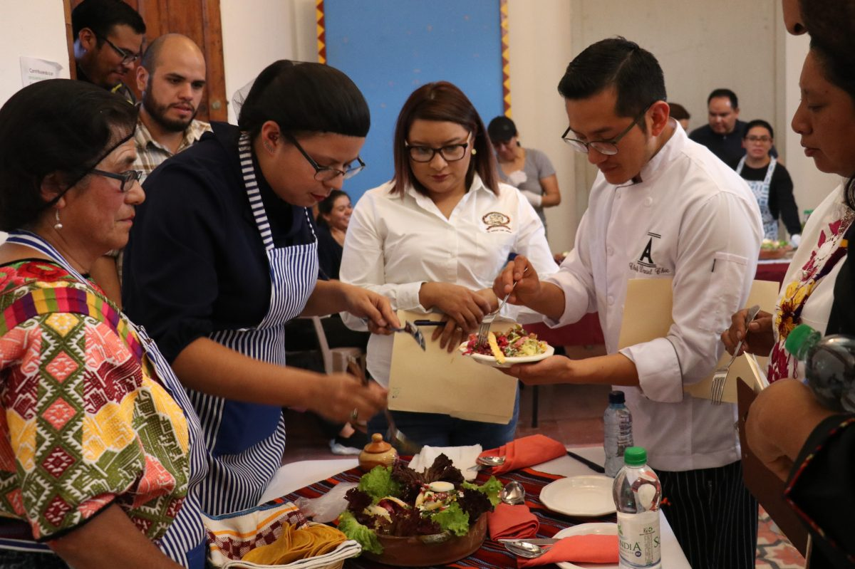 Así se desarrolló el primer concurso gastronómico que premió al mejor fiambre quetzalteco