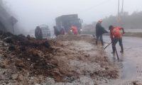 La saturación de los suelos por el exceso de lluvias puede provocar derrumbes, deslizamientos y daños a la infraestructura advierten las autoridades. (Foto Prensa Libre: Hemeroteca)