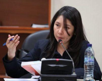 La jueza Erika Aifán ordenó la libertad al  exviceministro William Edgardo Sandoval Pinto. (Foto Prensa Libre: Hemeroteca)