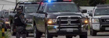 Poicía refuerza seguridad en Guanajuato ante la ola de violencia. (Foto: AFP)