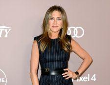 La actriz Jennifer Aniston dijo a la revista Variety que no le interesan las producciones de Marvel. (Foto Prensa Libre: AFP).