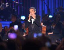 José José durante su presentación en los Premios Billboard, en Los Ángeles, octubre de 2012. (Foto: Kevin Winter/Getty Images)