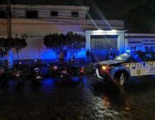 Empresa Municipal de Aguas de Xelajú donde ocurrió el suceso. (Foto Prensa Libre: Cortesía RBC)