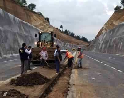 Libramiento de Chimaltenango podría ser habilitado (parcialmente) el 1 de noviembre