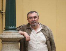 Luis Eduardo Rivera, ganador del Premio Nacional de Literatura 2019. (Foto Prensa Libre: HemerotecaPL)