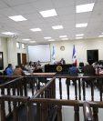 La audiencia se desarrollo en el Juzgado de Mayor Riesgo de Quetzaltenango. (Foto Prensa Libre: María Longo)