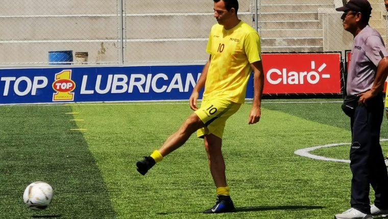 Marco Pappa aún estaría negociando con la junta directiva de Mixco los términos de su salida. (Foto Prensa Libre: Cortesía)