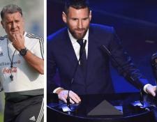 Gerardo Martino criticó la decisión de la Fifa de darle a Lionel Messi el premio The Best. (Foto Prensa Libre: Hemeroteca PL)
