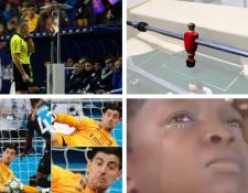 Estos son algunos de los memes más populares del momento después del empate del Real Madrid contra el Brujas. (Foto Prensa Libre: Redes)