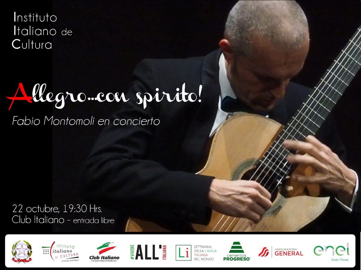 Concierto de Fabio Montomoli en Casa Noj