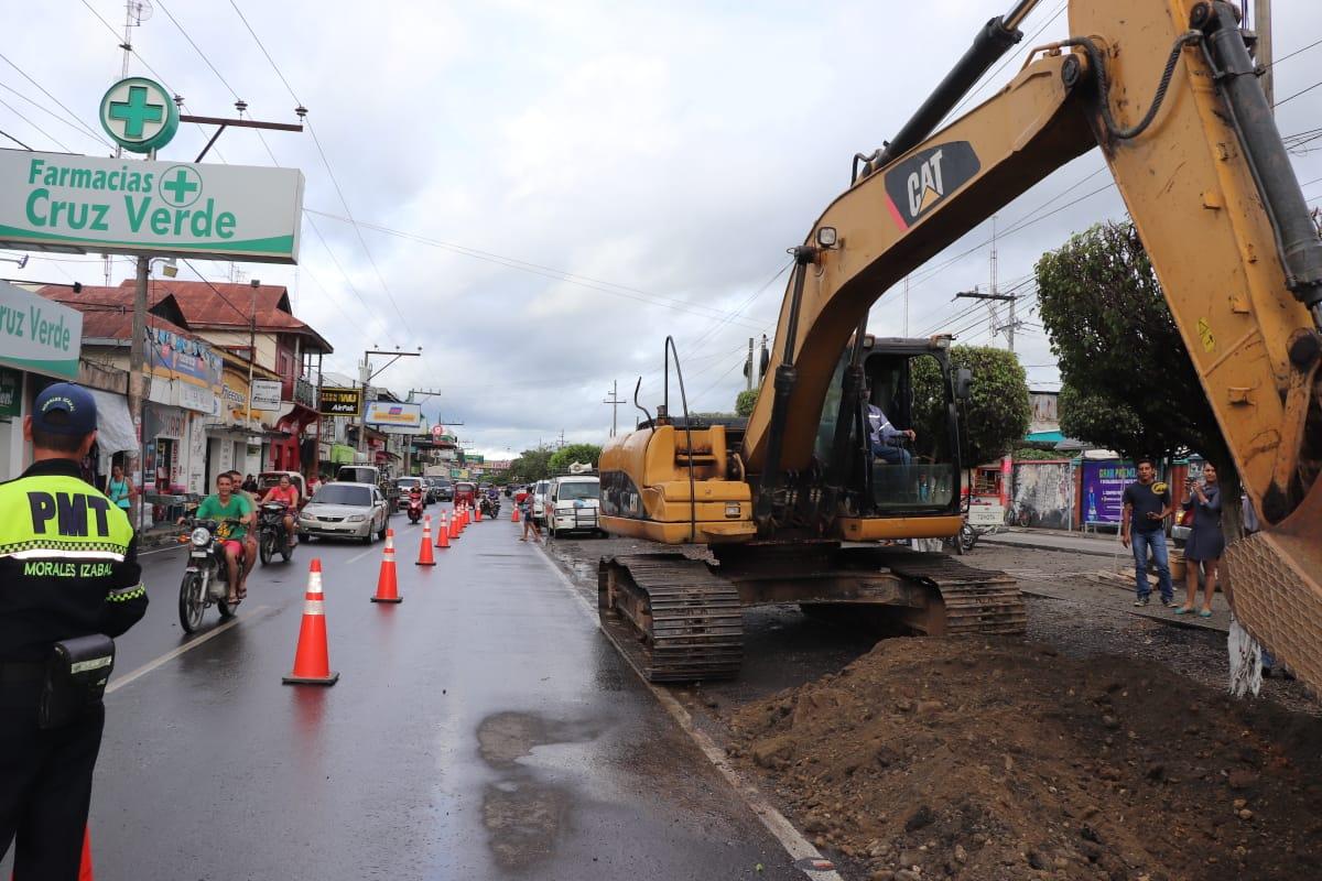 Iniciativa pretende ordenar el tránsito en el centro de Morales
