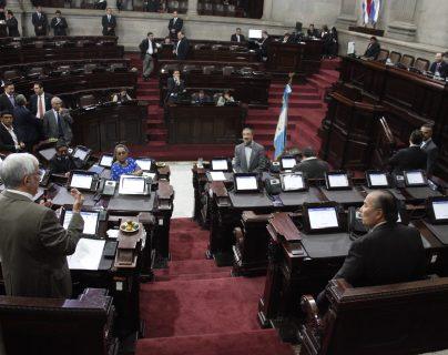 Sesión del Congreso conoció en tercer debate la ley de la vida y la familia, pero no hubo votación. (Foto Prensa Libre: Hemeroteca PL)