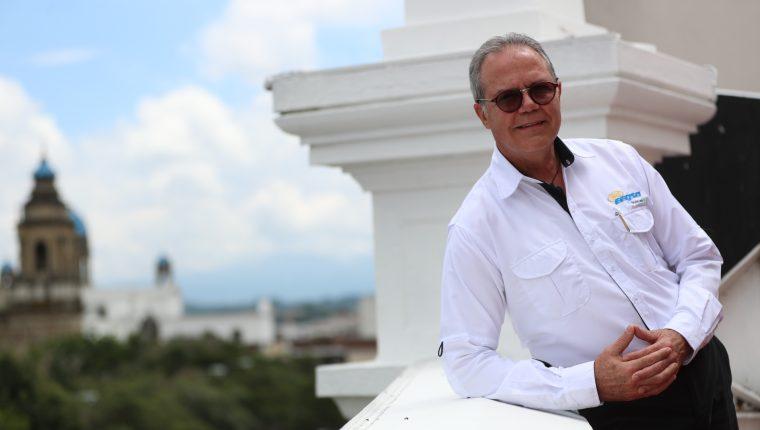 Jorge Alonso gerente general de EEGSA se retirará del cargo en los próximos meses como parte de un proceso de gobernabilidad empresarial que impulsa EPM. (Foto, Prensa Libre: Carlos Hernández).